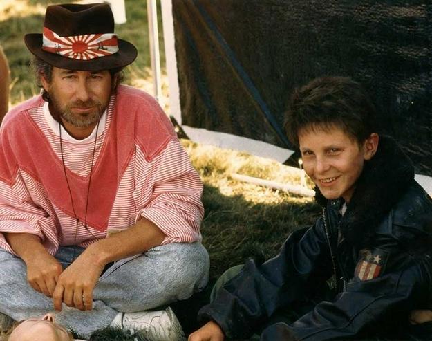 Empire du soleil - Steven Spielberg et Christian Bale