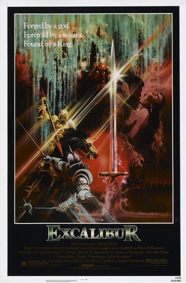 Excalibur - affiche