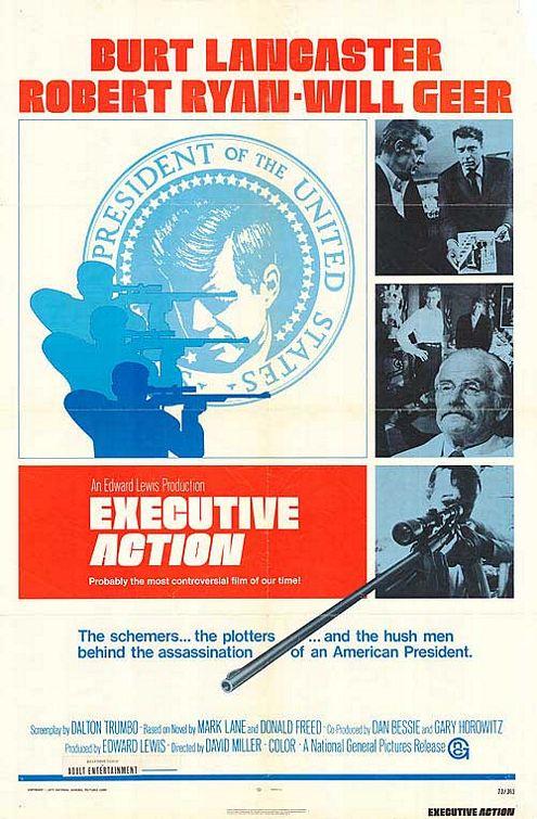 Executive Action - affiche