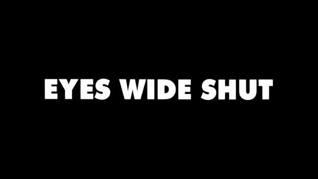 Eyes Wide Shut - générique