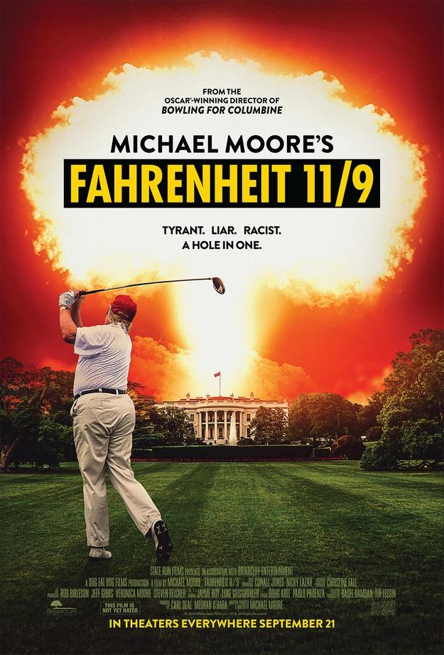 Fahrenheit 11/9 - affiche