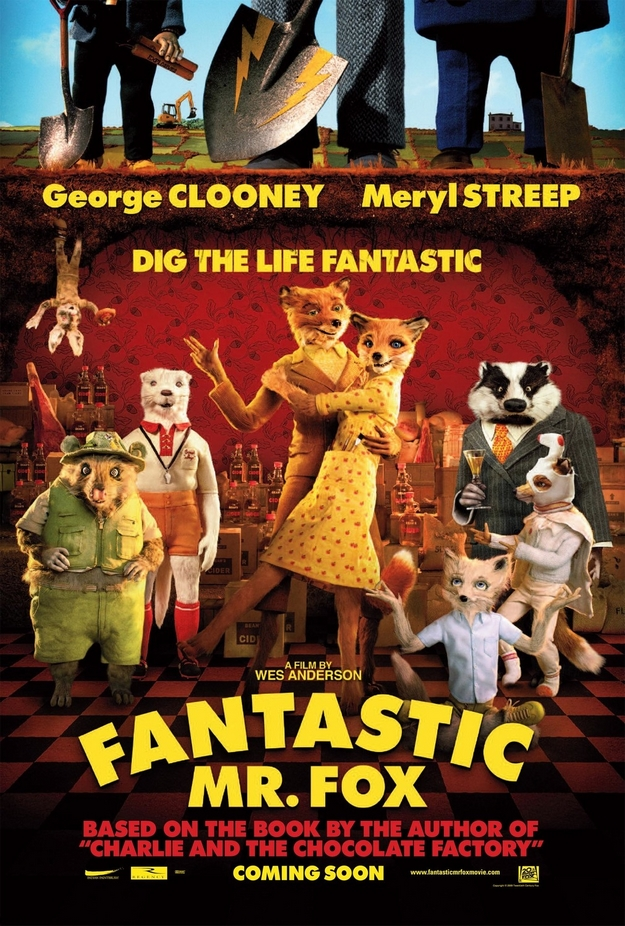 Fantastic Mr. Fox - affiche