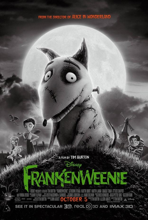 Frankenweenie - affiche