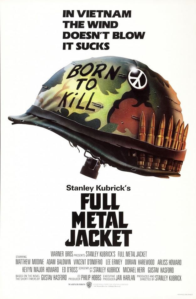 Full Metal Jacket - affiche