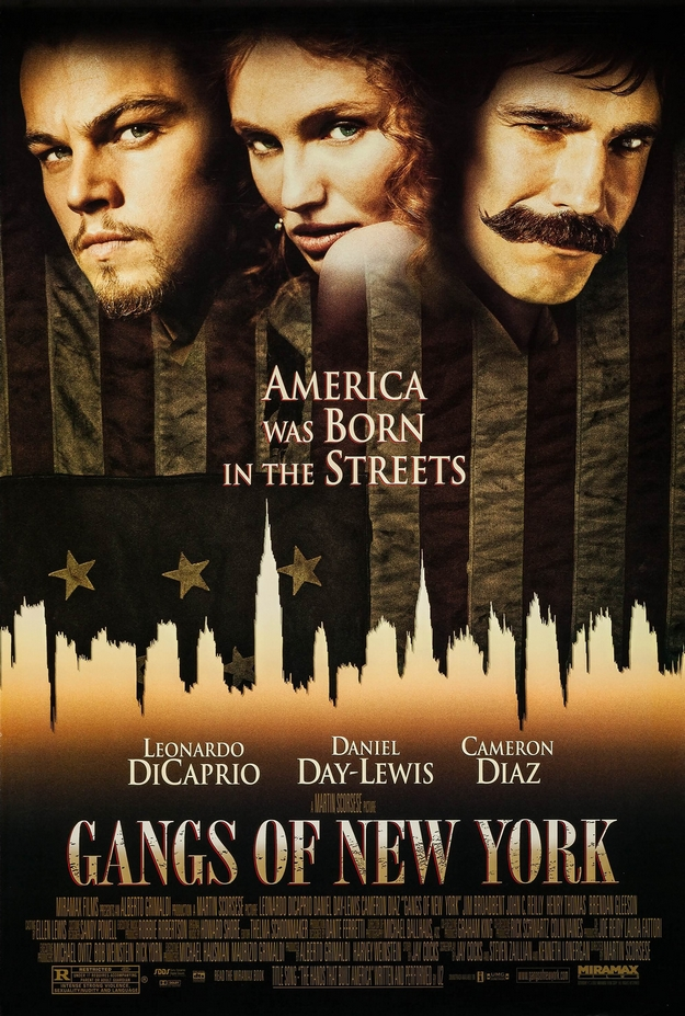 Gangs of New York - affiche