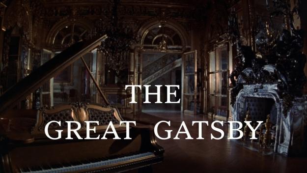 Gatsby le magnifique - générique