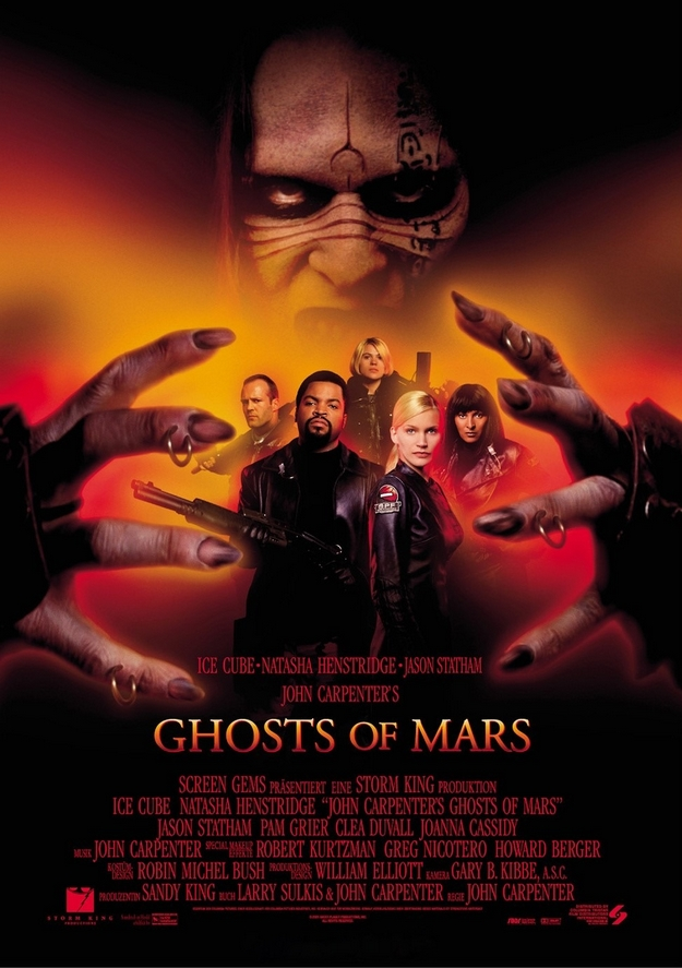Ghosts of Mars - affiche