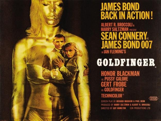 Goldfinger - affiche
