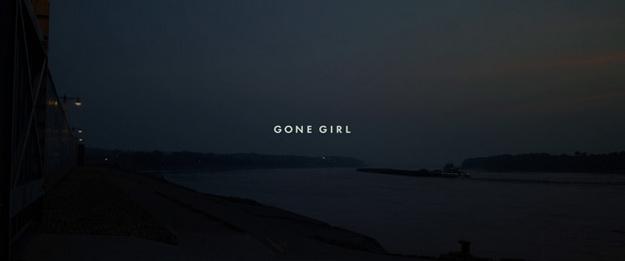 Gone Girl - générique
