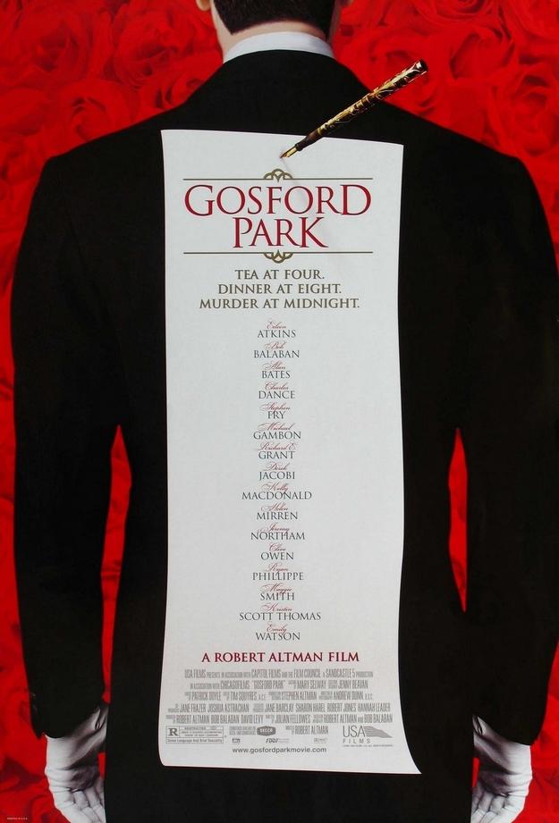 Gosford Park - affiche