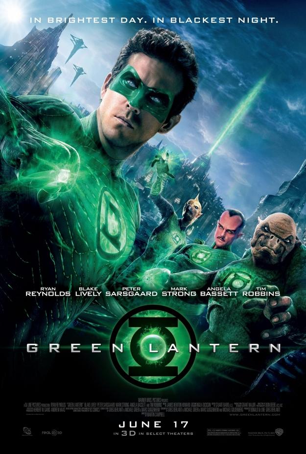 Green Lantern - affiche