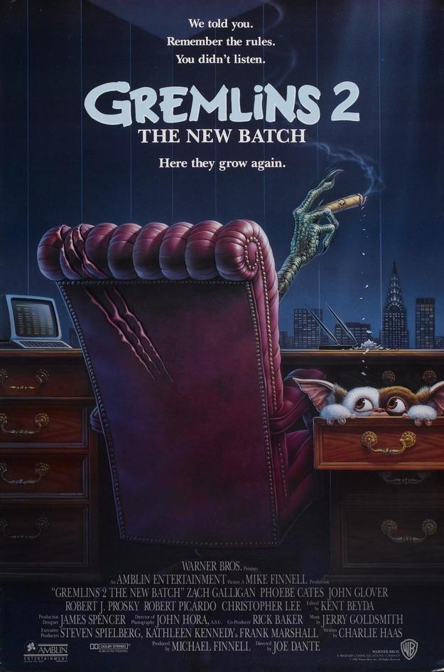 Gremlins 2 - affiche