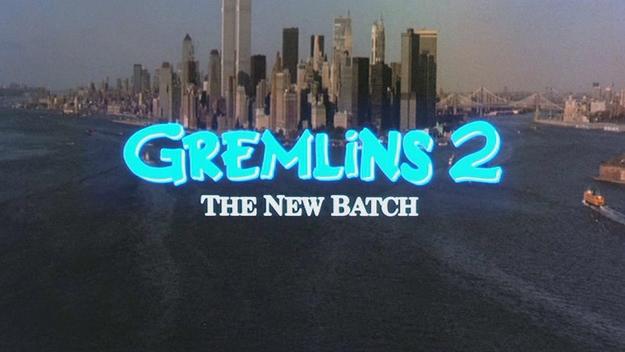 Gremlins 2 - générique