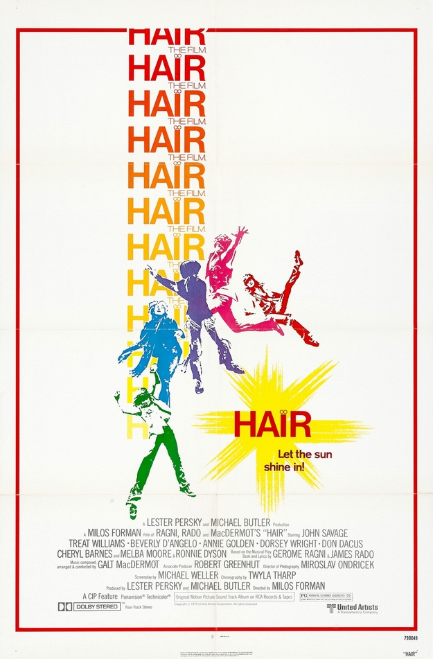 Hair - affiche