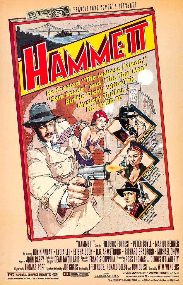 Hammett - affiche