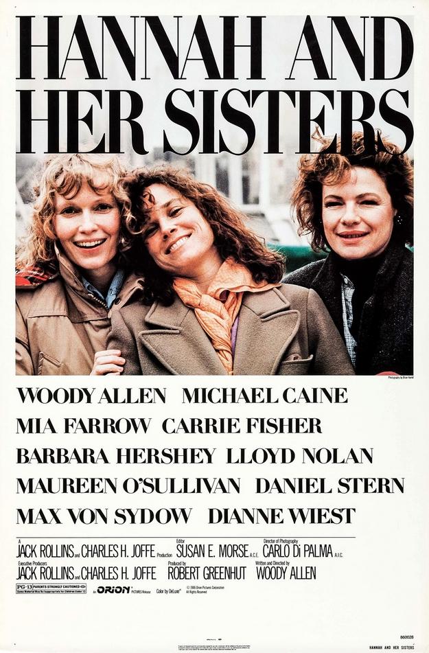 Hannah et ses sœurs - affiche