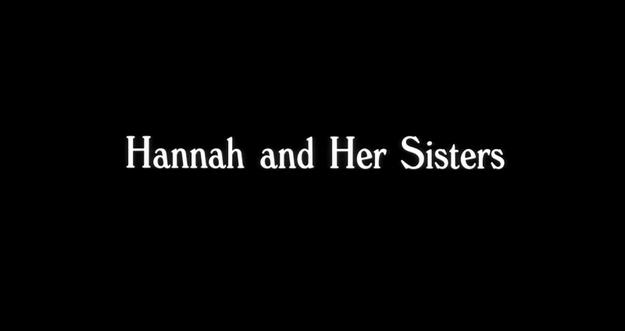 Hannah et ses sœurs - générique