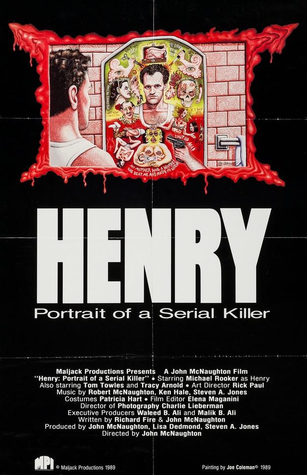 Henry portrait d'un serial killer - affiche