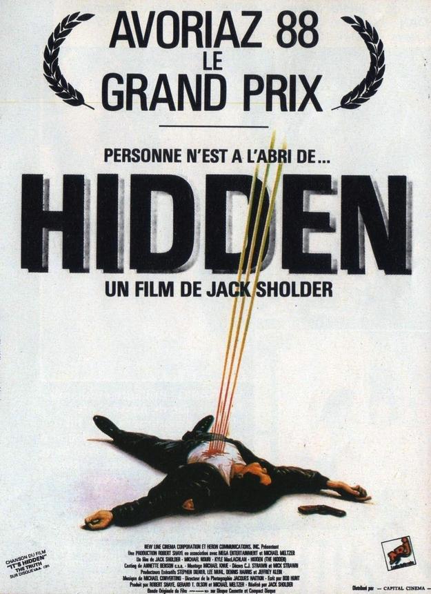 Hidden - affiche française