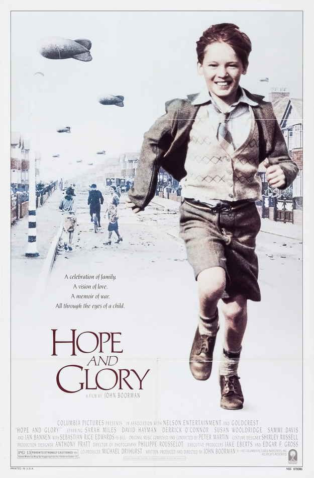 Hope and Glory - affiche