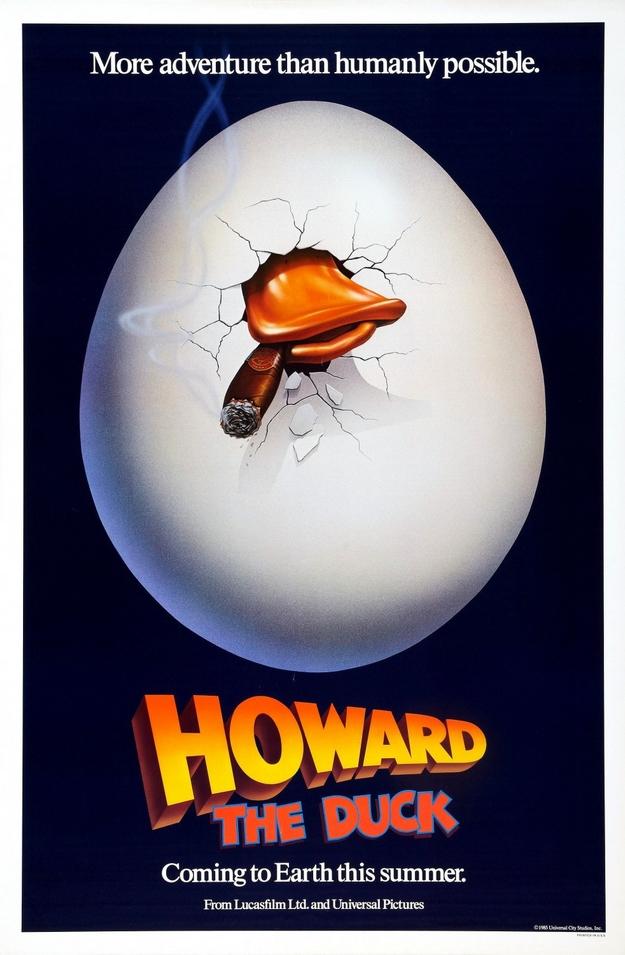 Howard une nouvelle race de héros - affiche