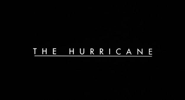 Hurricane Carter - générique