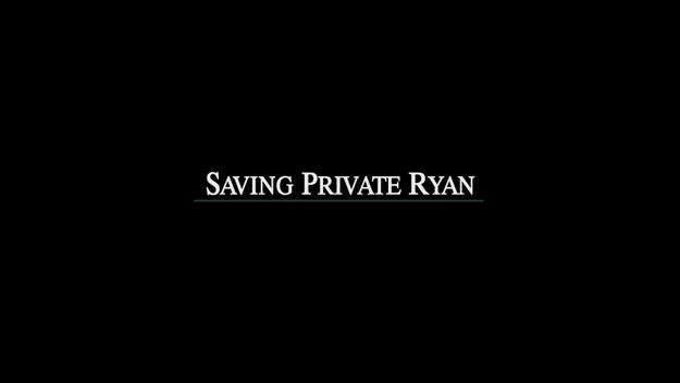 Il faut sauver le soldat Ryan - générique