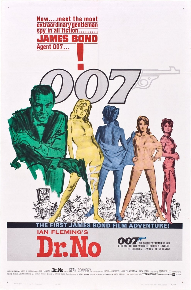 James Bond 007 contre Dr. No - affiche