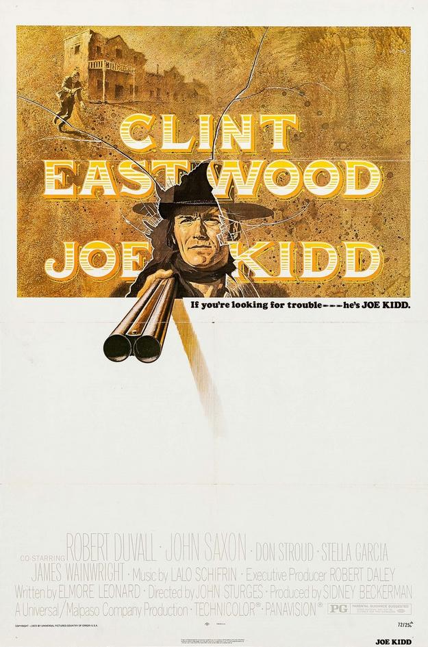 Joe Kidd - affiche