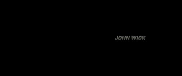 John Wick - générique