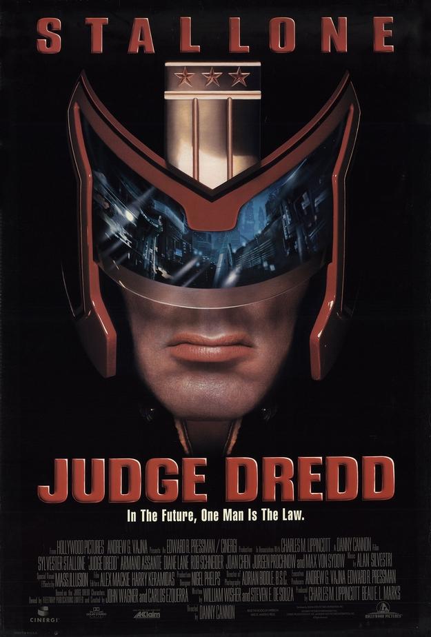 Judge Dredd - affiche