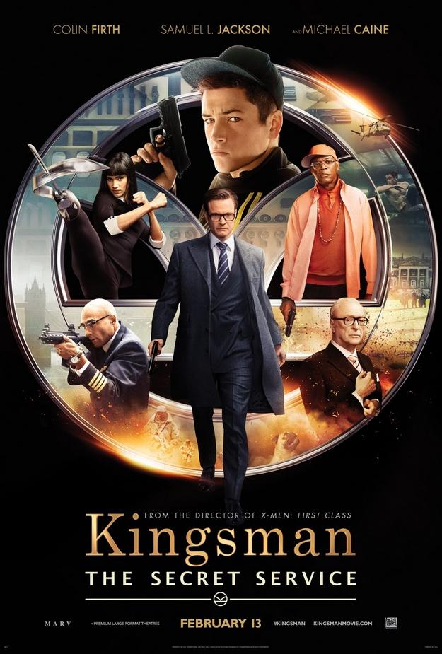 Kingsman - affiche