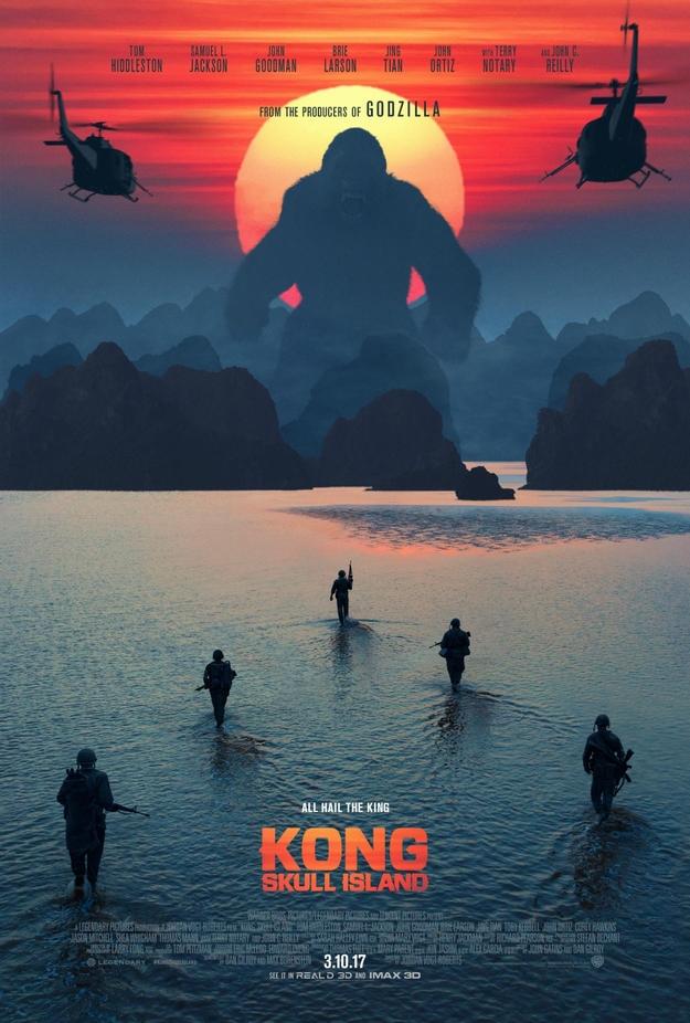 Kong Skull Island - affiche