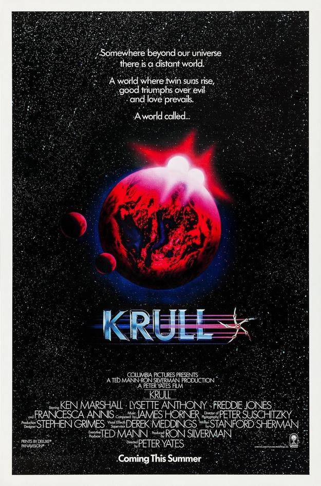 Krull - affiche