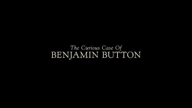 étrange histoire de Benjamin Button - générique