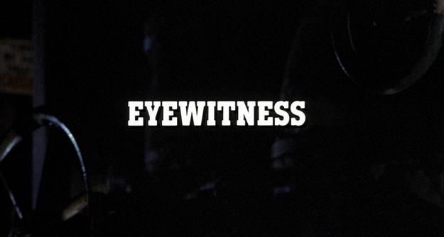 œil du témoin - générique