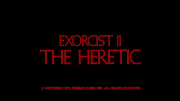 Exorciste 2 - générique