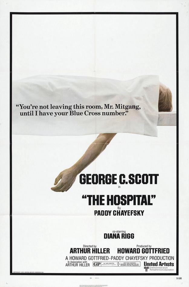 Hôpital - affiche