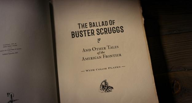La ballade de Buster Scruggs - générique