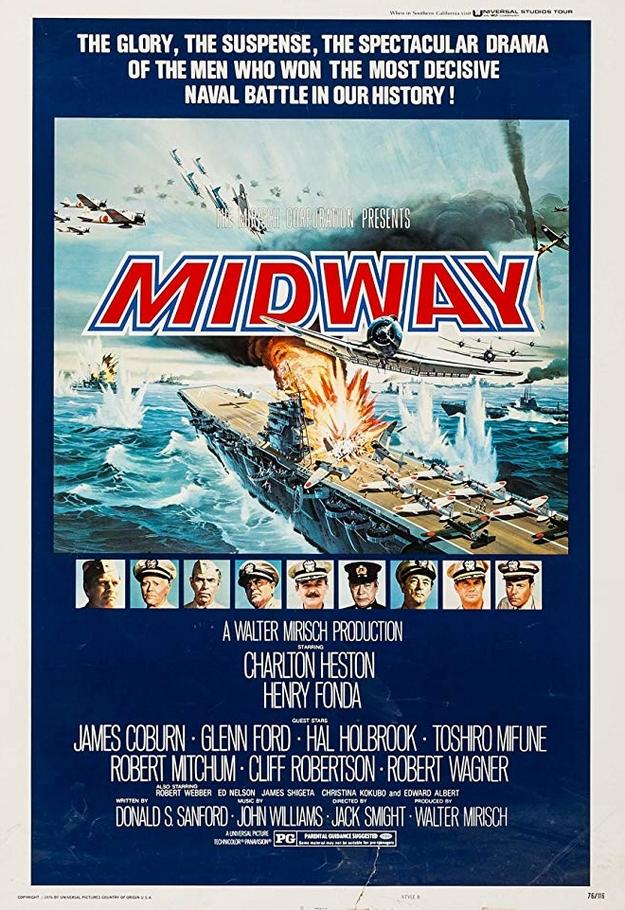 La bataille de Midway - affiche