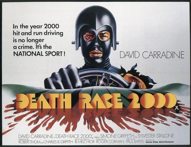 La course à la mort de l'an 2000 - affiche