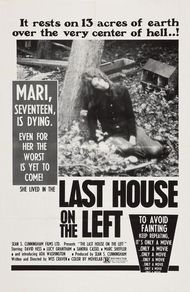 La dernière maison sur la gauche - affiche