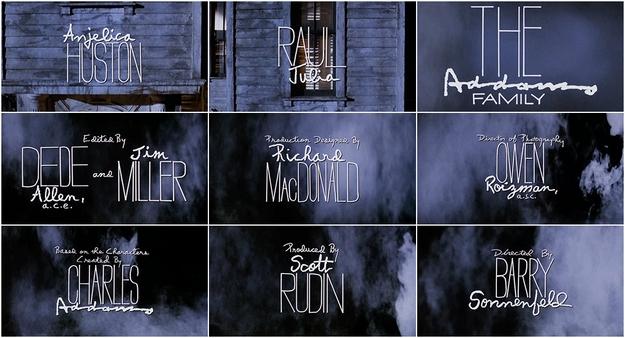 La famille Addams - générique