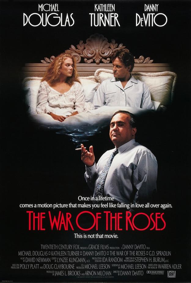 La guerre des Rose - affiche