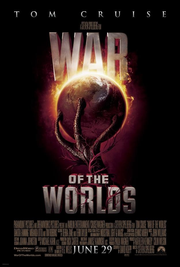La guerre des mondes - affiche