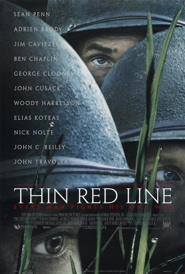 La ligne rouge - affiche