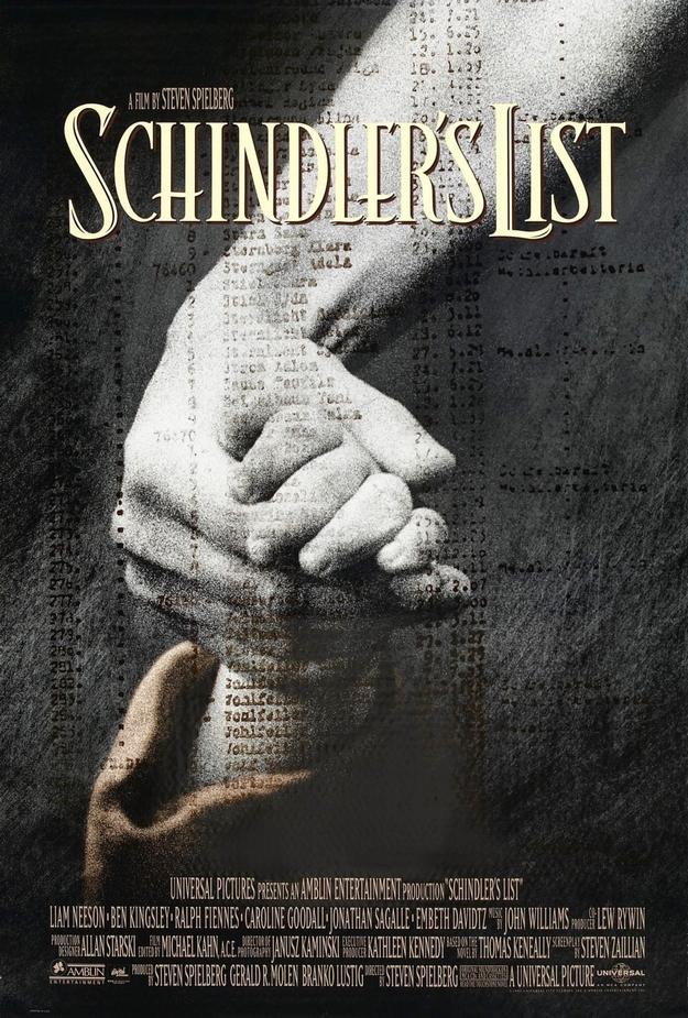 La liste de Schindler - affiche