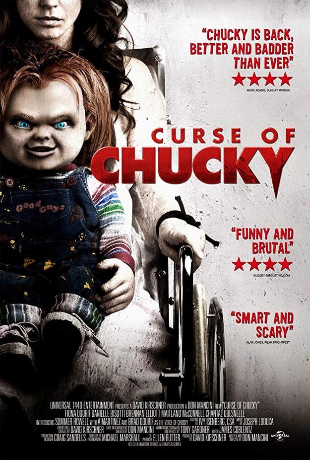 La malédiction de Chucky - affiche