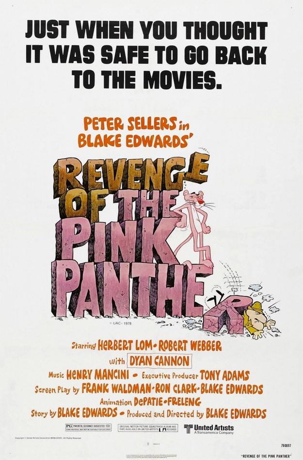 La malédiction de la panthère rose - affiche