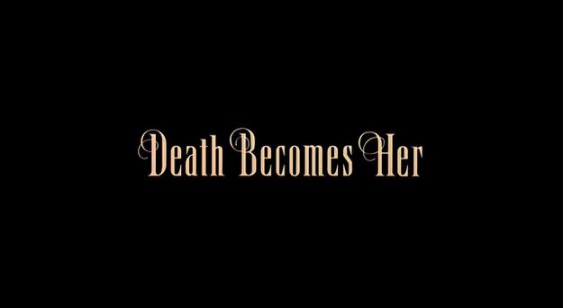 La mort vous va si bien - générique